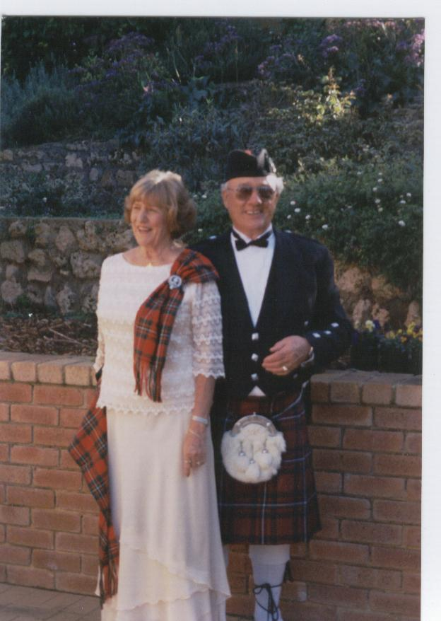 Scottish Geraldton Wedding