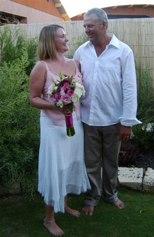 Relaxing Backyard Wedding