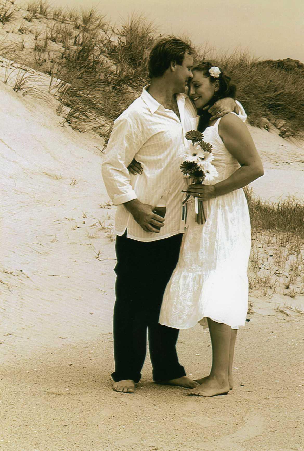 Port Dension Beach Wedding