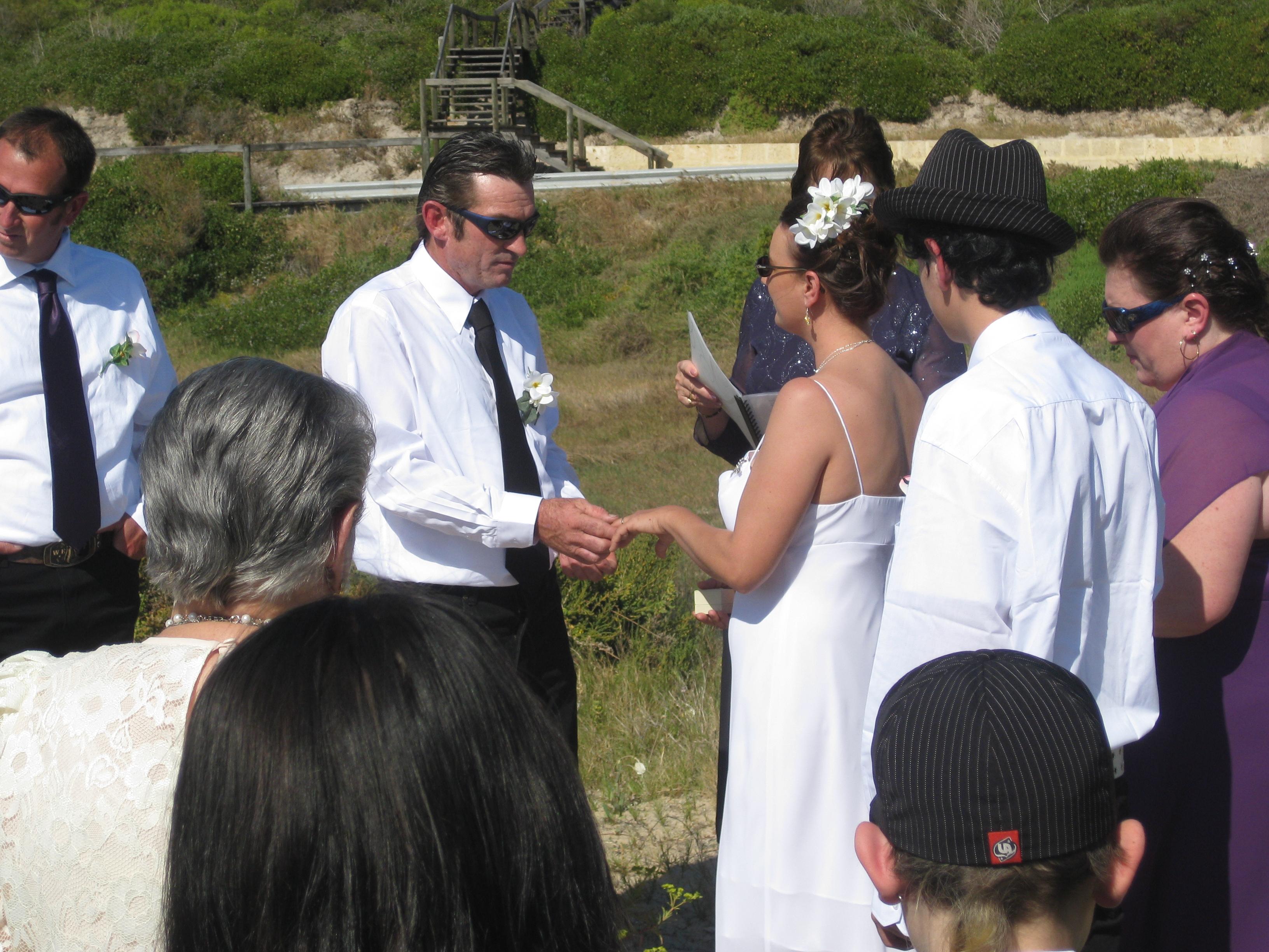 Geraldton River Wedding