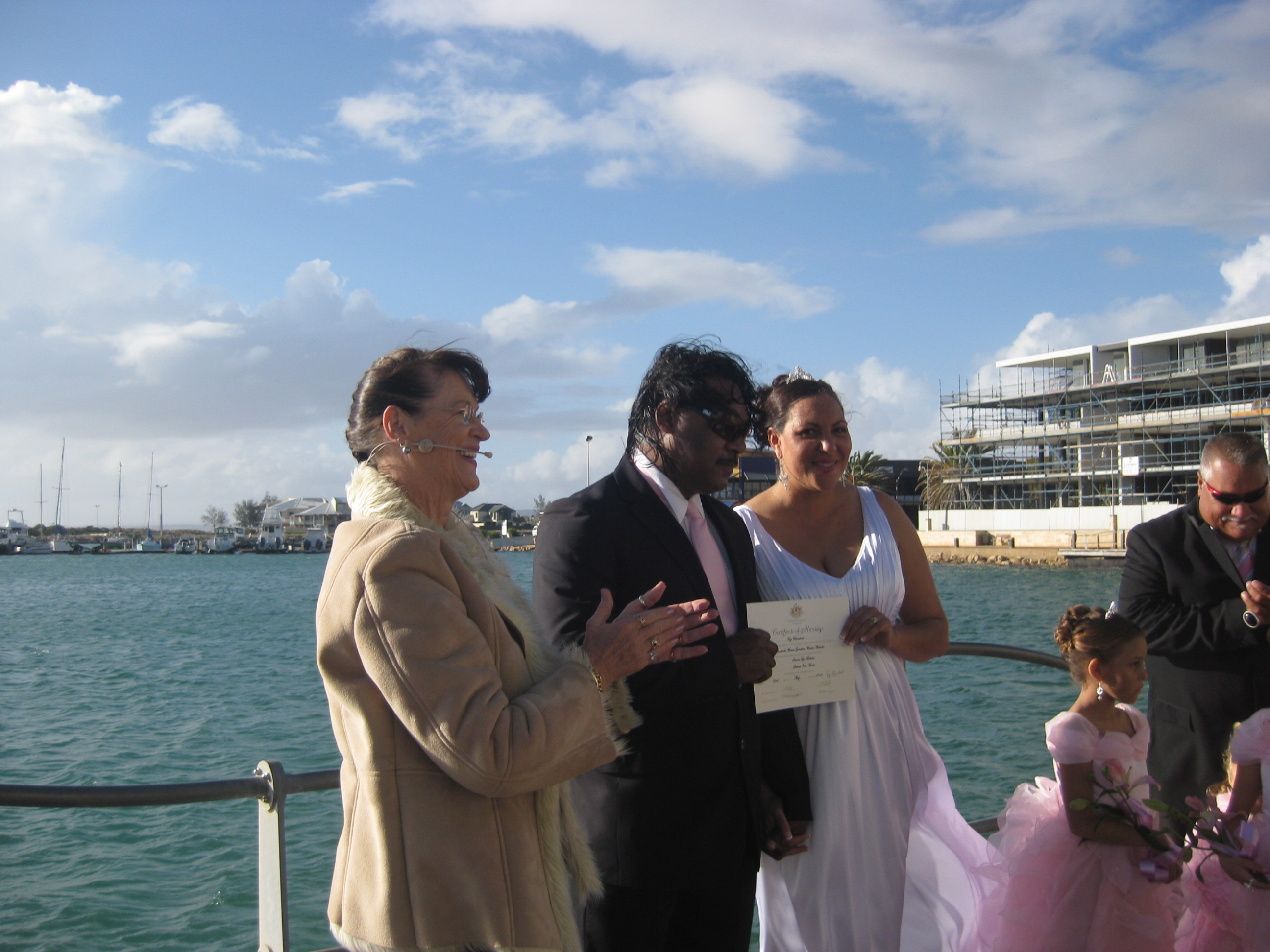 Geraldton Foreshore Wedding